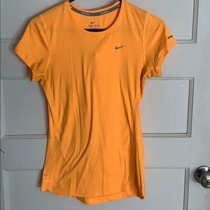 Nike dri-fit active wear T-shirt.